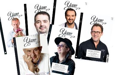 YAM - magazine gastronomique : des rencontres avec des chefs